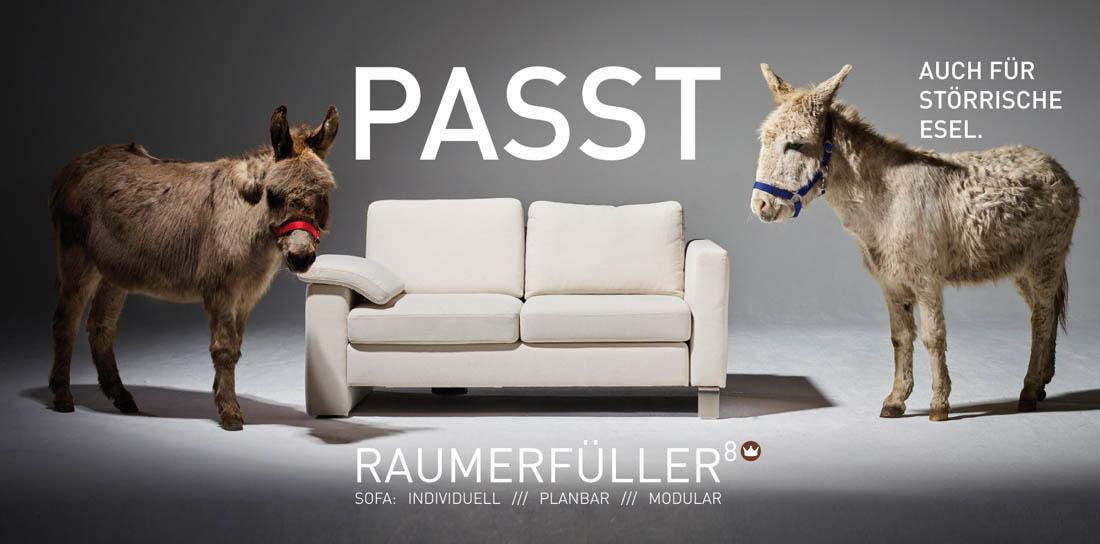 Modul-Sofa individuell Raumerfüller
